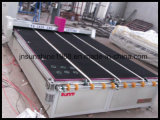 CNCの自動ガラス打抜き機のガラス切れ目