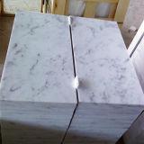 Pulido Mármol Blanco baldosas de piedra de pavimentación Pisos / Wall
