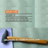[ه-202] بناء جهاز يد أدوات خشب صلد مقبض [جرمن] نوع ميكانيكيّة مطرقة