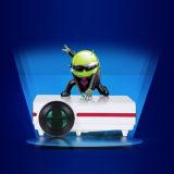 La enseñanza, la tienda, Reunión, proyector de vídeo HDMI 1080p