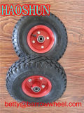 10 pulgadas de 4,10 / 3,50 a 4 de la rueda neumática para carretilla de mano