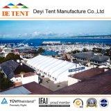 Tente 2015 incurvée extérieure de luxe pour le mariage, partie, événements, sports