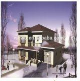 Estrutura de aço leve Villa House construir em 2017