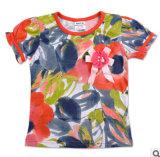 La nouvelle de l'été 2014 filles T-shirt en coton
