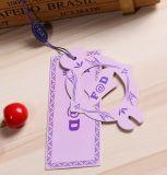 専門のカスタム衣服の衣類のペーパーによって印刷されるこつの札