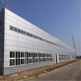 Taller construido fábrica Pre-Hecho de la estructura de acero en Etiopía