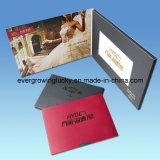 공장 공급 5.0inch LCD 스크린 영상 명함