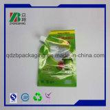 Zoll gedruckter Soem-unregelmäßiges Plastikfruchtsaft-Getränkeverpackenbeutel-Beutel