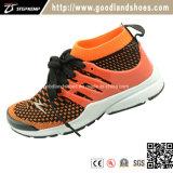 Espadrilles neuves d'arrivée, chaussures d'enfants de Flyknit de patin de chaussures 16026-2