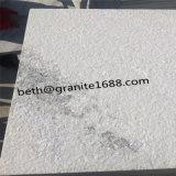 曇った灰色の大理石の磨かれた白い大理石