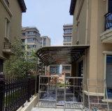Carport del toldo de Rainshed Sunshed de los garages del pabellón de Woofshade de la tienda de la terraza del Gazebo