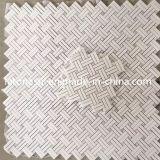 도매 Bianco Carrara 모자이크 돌, 백색 대리석 Polished 모자이크 타일