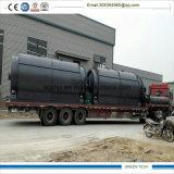Los residuos plásticos Refinería Máquina 10ton planta de pirólisis