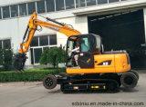 Usine d'excavatrice de matériel de construction de routes de la Chine, Xiniu/excavatrice de rhinocéros, excavatrice de machine de construction