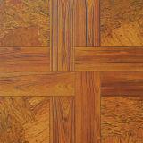 Pavimentos de mosaico de madeira de carvalho Pavimento de padrão de madeira engarrafada