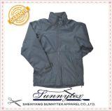 Vestuário barato dos homens do revestimento selado fita do Parka do aquecimento do inverno