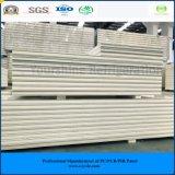 ISO、SGSは涼しい部屋の冷蔵室のフリーザーのための200mm浮彫りにされたアルミニウムPIRサンドイッチ(速合いなさい)パネルを承認した