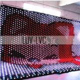 Driekleuren LED-kaartgordijn
