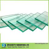 hoja barata del vidrio Tempered de 3.2m m para el edificio