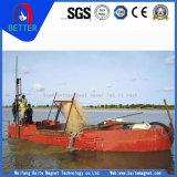 Dragueur hydraulique d'aspiration de coupeur de sable de constructeur de la Chine pour le nettoyage de port/eau