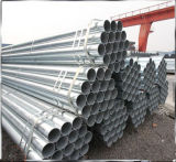Q235 1inch 1.5inch galvanizzato intorno al tubo/tubo d'acciaio