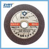 Disco sottile di taglio della rotella di taglio per acciaio inossidabile