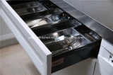 Gabinete de cozinha moderno da madeira contínua de Welbom