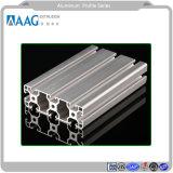 Revestimiento en polvo blanco OEM de materiales de construcción de aluminio 6063 T5 Extruted/Perfil de aluminio para muro cortina