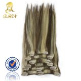 Human Hair Extension Mixed Color Piano Color에 있는 도매 Top Quality 브라질 Clip