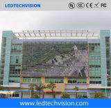P16mm Ledwall trasparente per fare pubblicità