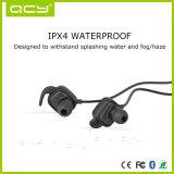 Receptor de cabeza doble sin hilos de los oídos de Bluetooth del fabricante chino con el Mic