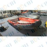 3 tester del PVC di barca gonfiabile del guscio rigido