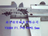 Ck-163 Agnetic de alto rendimiento de las propiedades de los imanes de ferrita de sinterizado