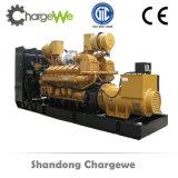 Prueba de sonido de generador diesel del motor de 700 kW