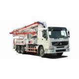 Sinotruk mélangeur de la pompe à béton montés sur camion pompe à béton chariot