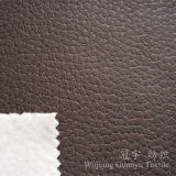 Tissu de Microfiber Suedette de cuir gravé en relief pour le sofa