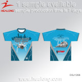 Camisa elegante do Sublimation T das camisas do projeto de Healong