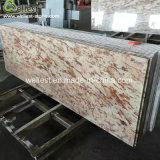 Плитка стены плитки мрамора верхней части тщеты Battern мрамора встречной верхней части мрамора золота Кашмира декоративная