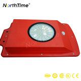 1赤い6W動きセンサーPIRの太陽街灯のすべて