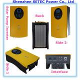 inversor de la rejilla sin la batería con el panel solar y bomba AC Concluir Sistema de Bombeo Solar