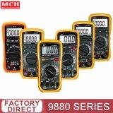 Mch 9880 de poche série Multimètre numérique LCD Tension AC/DC AMP Testeur de résistance actuel mètre de rétroéclairage