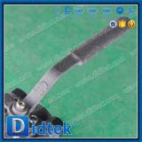 Acero forjado A105 de Didtek vávula de bola roscada hembra de 3 pedazos