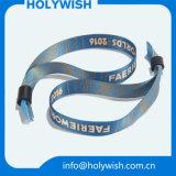 Печатание Sublimatied свободно образца Wristband шарма логоса