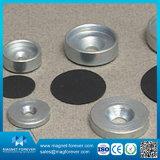 De permanente Ronde Magnetische Houder van de Magneet van het Ferriet van de Pot