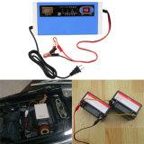 12-24V 10A Energie LCD-Motorrad-Autobatterie-Aufladeeinheit