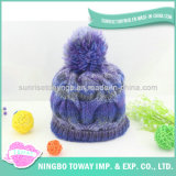 中国の製造者の安い編むかぎ針編みのカーペットのナナカマドのウールの綿