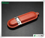 Azionamento elegante della penna del USB del cuoio con l'alta qualità (WY-L02)