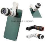 lente da lente de câmera do telefone do grampo do zoom 8X para o iPhone e a Samsung