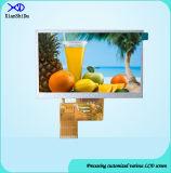 5.0 Zoll LCD-Bildschirm mit Helligkeit 650 CD/M2