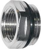 Латунным клапан для впуска горючей смеси резьбы покрынный никелем для радиатора